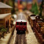 おもちゃの電車の写真